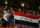 亚洲杯上的伊拉克球迷