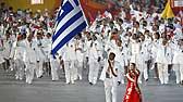 奥运会开幕式 各国家和地区代表团入场