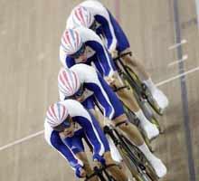 场地自行车,男子4公里团体追逐赛,北京奥运,08北京