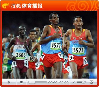 视频:贝克勒破奥运纪录 蝉联男子一万米冠军