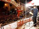 泰国反对派领导人集会演讲