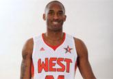 NBA西部全明星写真:科比笑容可掬 姚明英气逼人