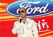 新嘉年华上市现场台湾歌手