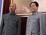 组图:张国立唐国强片场飙歌