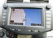 一汽丰田RAV4中控台显示器