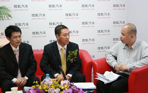 华泰汽车销售副总柏永华接受搜狐汽车专访