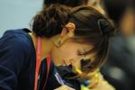 美女志愿者,横滨世乒赛