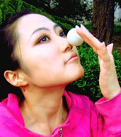 美女,横滨世乒赛,世乒赛宝贝