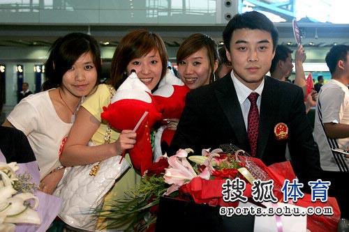 乒乓宝贝,刘国梁,美女