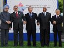 戴秉国同印度巴西南非墨西哥领导人集体会晤