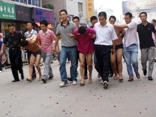 安徽桐城暴力袭警案3名嫌疑人落网
