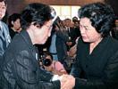 卢武铉夫人安抚金大中夫人